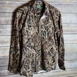 Cabela's Mossy Oak Waterfowl Shirt Size S